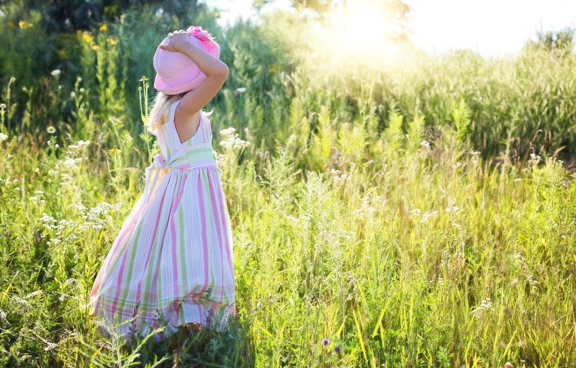 Dětský stan pro holčičky