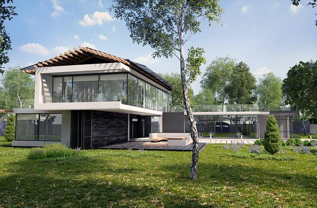 moderní nízkoenergetický dům