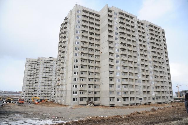 výstavba panelových domů