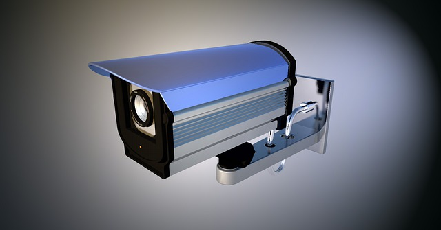 video kamera na zeď
