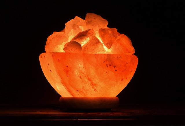krystal lampa